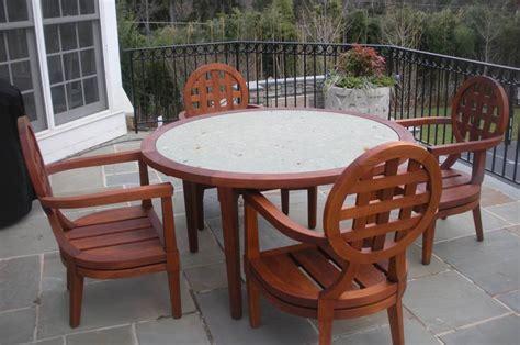 teak outdoor furniture restoration georgetown