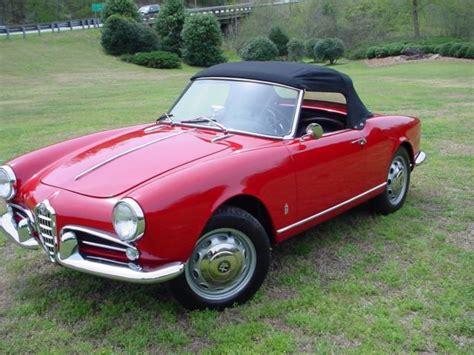 1959 Alfa Romeo by 1959 Alfa Romeo Giulietta 750d Spider For Sale Alfa