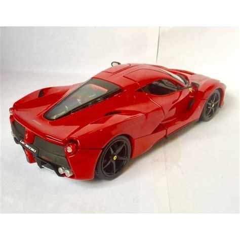 Nieuwe aanbiedingmodellino die cast ferrari 512 bb lm 24h le mans 1979 scala 1/43. Bburago Ferrari LaFerrari Red - 1:18 Scale Diecast Car - Bburago from Jumblies Models UK