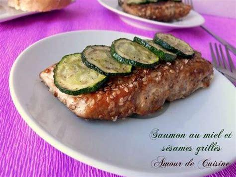 cuisine et fetes repas de fetes saumon grillee au miel et sesames 640x480 jpg