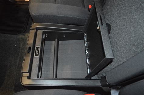 console vault gmc sierra   seat console