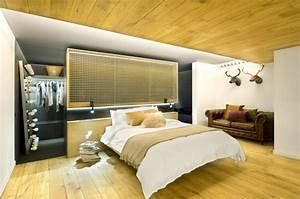 12 designs chambre a coucher moderne et speciale With chambre avec dressing ouvert