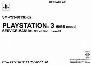 Sony Playstation 3 Cecha00 Cecha01 Sm