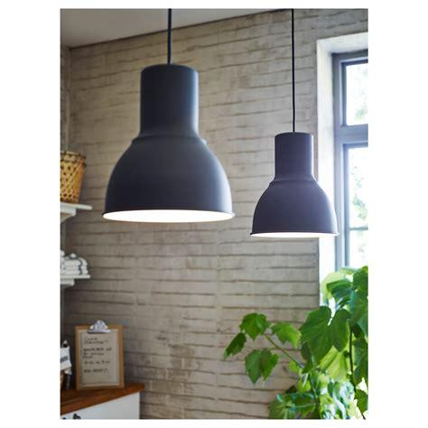 suspension cuisine ikea hektar pendant l grey 22 cm ikea