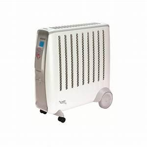 Radiateur Inertie Douce : radiateur electrique chaleur douce inertie voltman dio ~ Edinachiropracticcenter.com Idées de Décoration