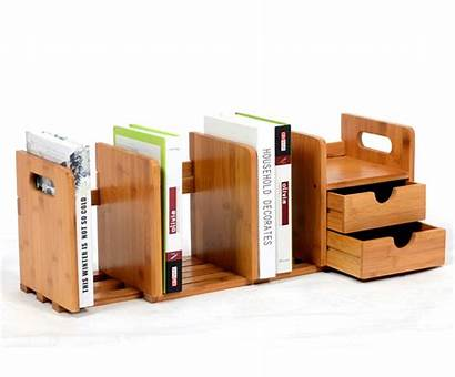 Office Bookshelf Rack Desktop Storage Holder Shelf