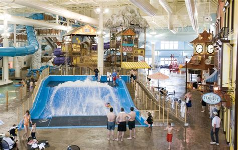 avalanche bay  michigans largest indoor waterpark