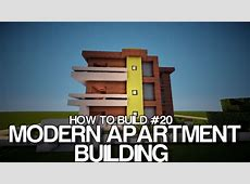 How to build #20 Modern HotelApartment building YouTube