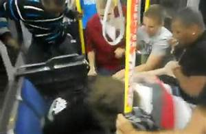 Guy Talking Tough On A Bus In Ottawa Gets Jumped By 10 ...