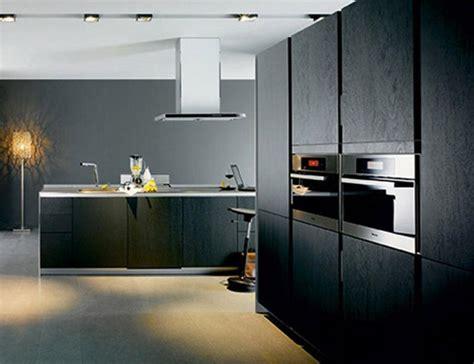 belles cuisines contemporaines 12 belles cuisines contemporaines avec des placards noirs
