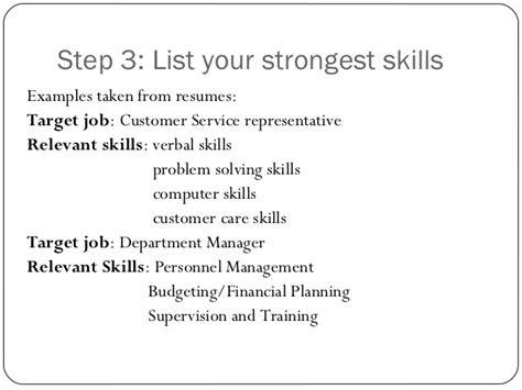 What Are Important Skills To List On A Resume by Resume Writing Ppt Presentation