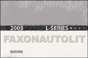 2005 Saturn L300 Repair Shop Manual 2 Volume Set Original