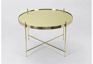 Table Basse Dorée : table basse doree ~ Teatrodelosmanantiales.com Idées de Décoration