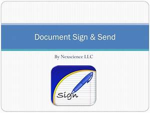 ppt awesome productivity app for iphone ipad With sign and send documents online