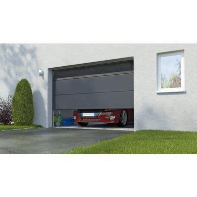 porte de garage columbia sectionnelle en kit motoris 233 e somfy ext 233 rieur