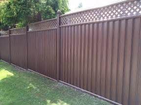 Decorative Garden Fence Panels by Choosing The Right Garden Fencing For Security Colourfence