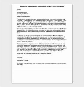Family Leave Letter To Employer Leave Request Letter Templates Format Sample Letters