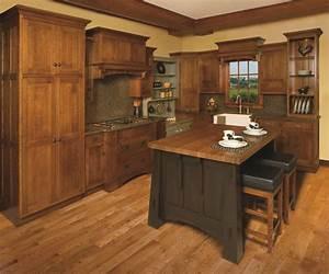 Craftsman style White Oak Kitchen craftsman kitchen cleveland 736