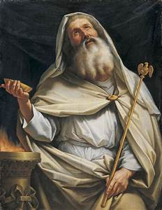 Priest Of Zeus At The Temple Painting by Stefano Tofanelli