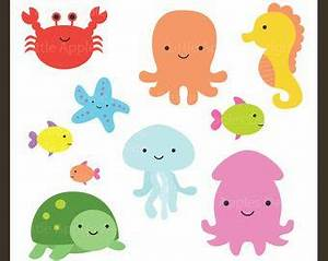 Sea Animal Clipart Sea Animal Clip Art Sea Creatures by