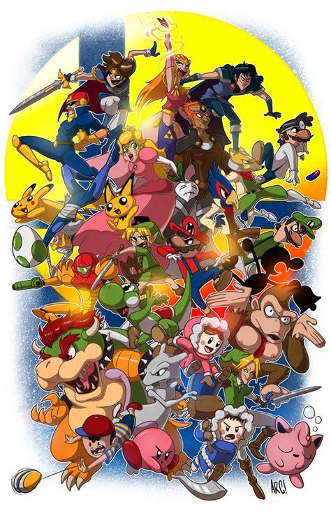 Super Smash Bros Melee By Iamarg On Deviantart