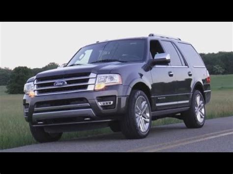 ford expedition platinum test drive video review