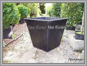 Gros Pot Pour Olivier : pour mon olivier un vase en zinc d cosanges ~ Melissatoandfro.com Idées de Décoration