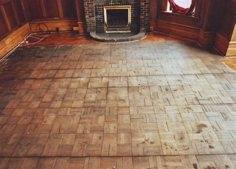 restoration and refinishing parquet and hardwood