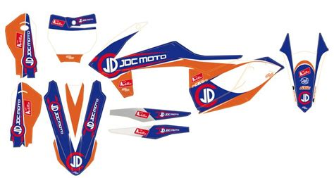 kit deco jdc moto ktm sx f 450 2016 factory motor deco and ktm 450