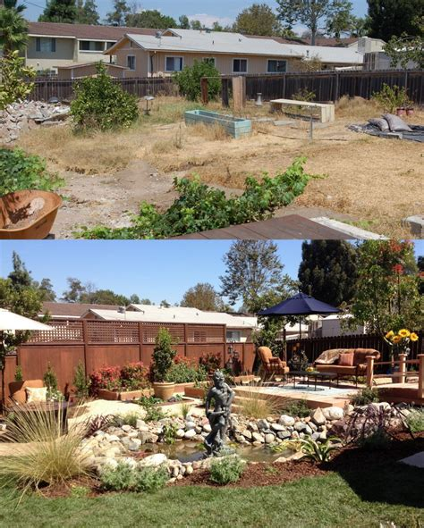 backyard before and after yard crashers before and after pictures 187 backyard and