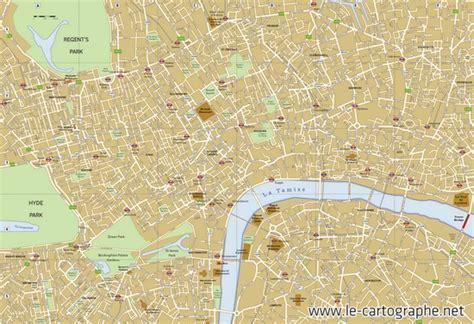 Carte Touristique Du Centre De La by Serious Guide Cartographie Pour Guide Touristique