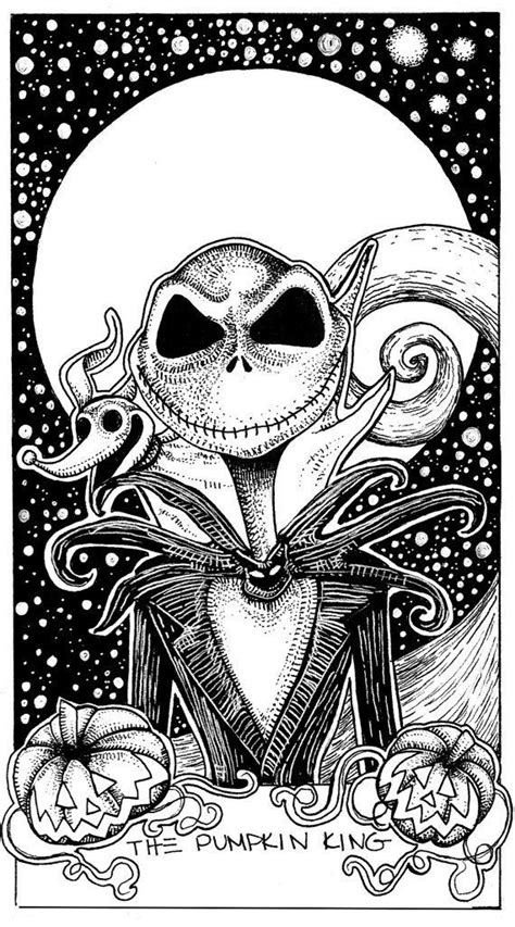 Adult Coloring Pages by Sorrows Fade | Nightmare before