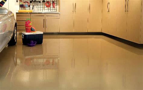 Garage Floor Epoxy Coatings   Color Matched Custom Floor