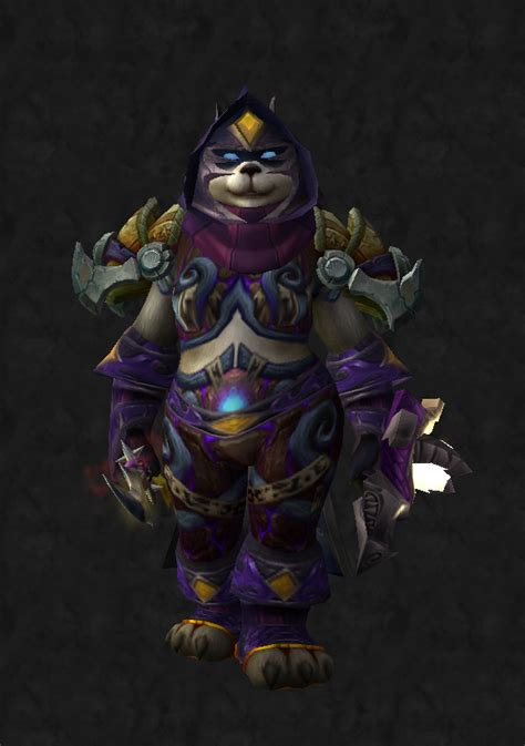 transmog rogue horde purple pandaren looking different