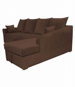 L shaped fabric sofa in india sofa menzilperdenet for Sectional sofas in india
