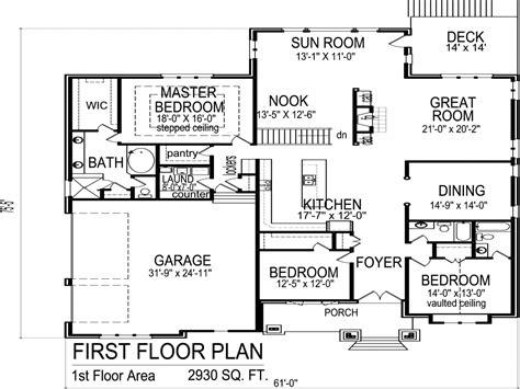 3 Bedroom 2 Bath House Plans 1550 Sq Ft 3 Bedroom 2 Bath