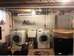 Basement Laundry Room Interior Remodel Decorate Unfinished Basement 331355 Home Design Ideas