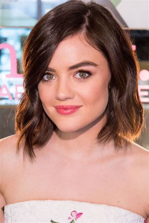 LUCY HALE at Mark. Holiday Collection Event at Crosby ...