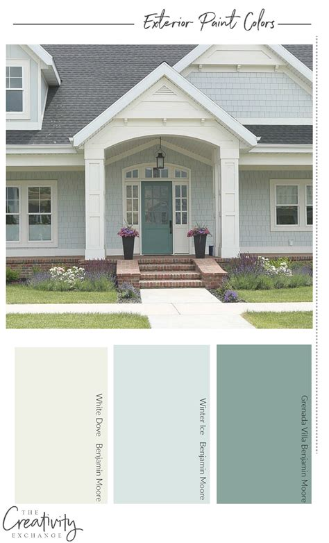 exterior paint color numbers how to choose the right exterior paint colors