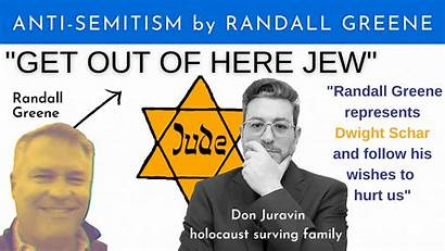 Dwight Randall Greene Anti Schar Semitic Treated