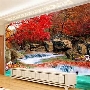 Custom 3D Photo Wallpaper Living Room TV Backdrop Natural ...