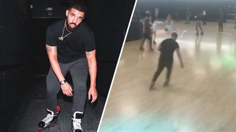 Watch Drake Roller Skate To His Own Music At Floyd