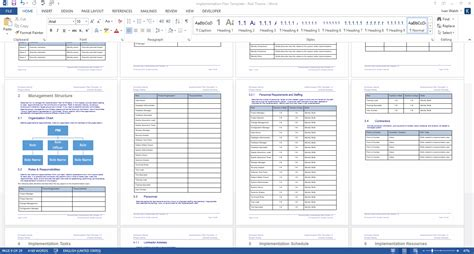 Work Estimate Template Word