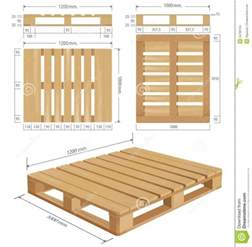 wooden pallet dimensions size image wooden shipping pallet in standard dimensions stock photo