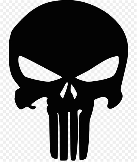Kaos Punisher 5 punisher logo marvel comics decal skull png