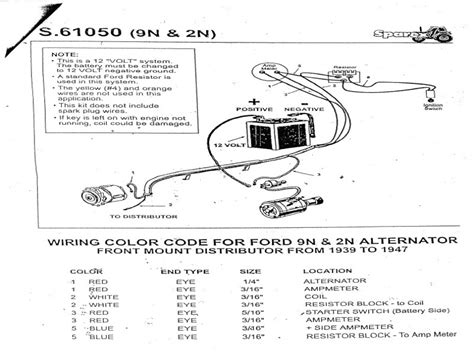 Ford 8n Coil Wiring by Ford 8n Tractor Distributor Diagram Wiring Forums