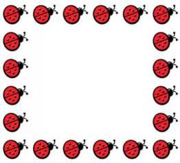 Free Printable Ladybug Border Clip Art