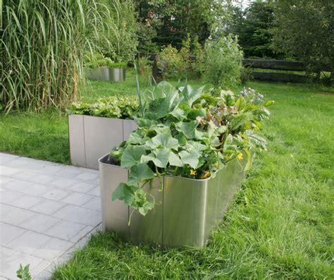 """Garten Im Quadrat  Hochbeet In Lform """"corner 163"""