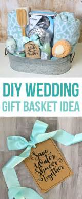 shower themed diy wedding gift basket idea ideas