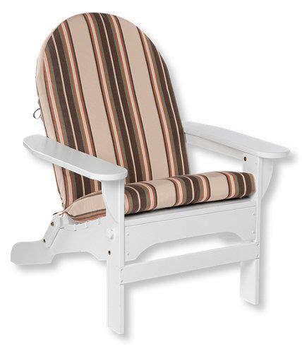 Ll Bean Adirondack Chair Cushions by Casco Bay Adirondack Chair Seat And Back Cushion Stripe
